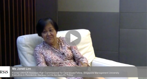 Interview with Ms Janet Lim by the Centre for Non-Traditional Security Studies, RSIS