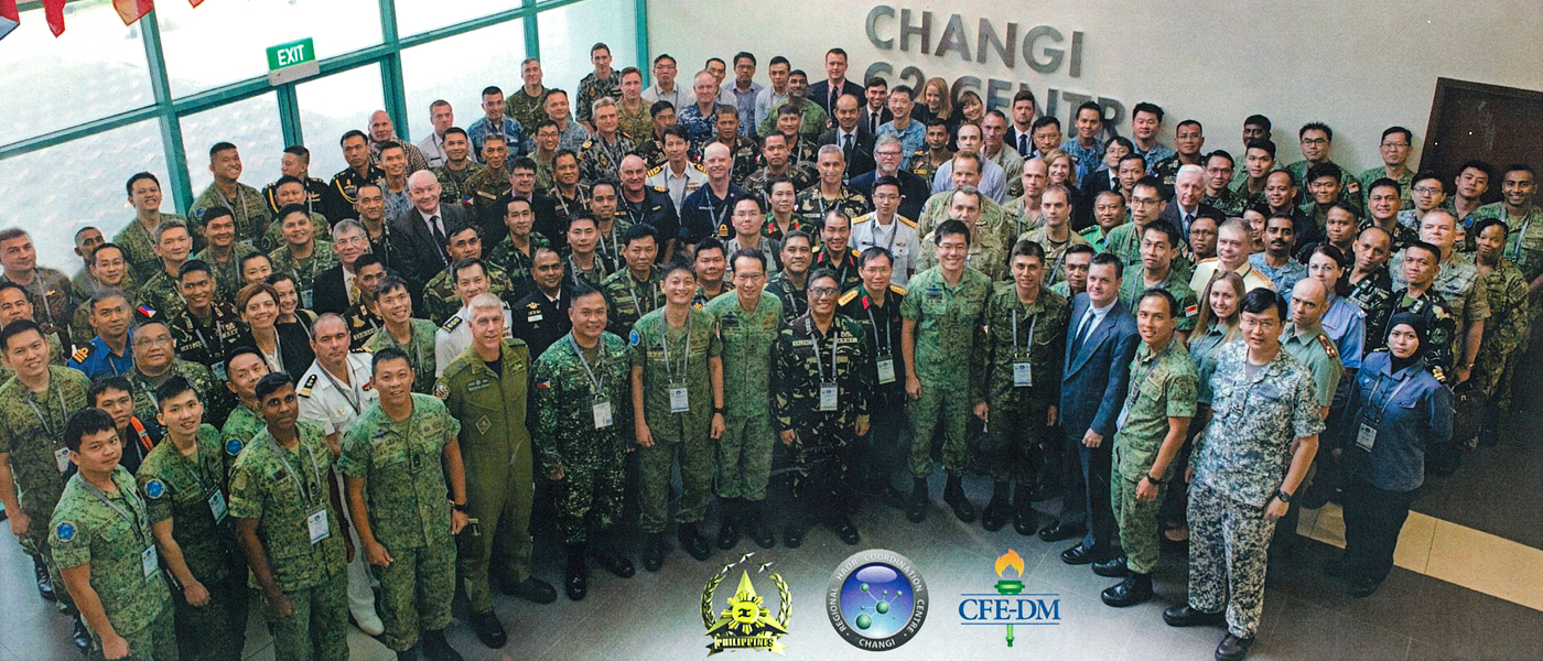 The first Exercise Coordinated Response (EXCOORES 17) was held from 23rd to 25th January at the Changi C2 Centre in Singapore