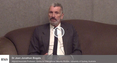 Interview with Dr Jean Jonathan Bogais by the Centre for Non-Traditional Security Studies, RSIS