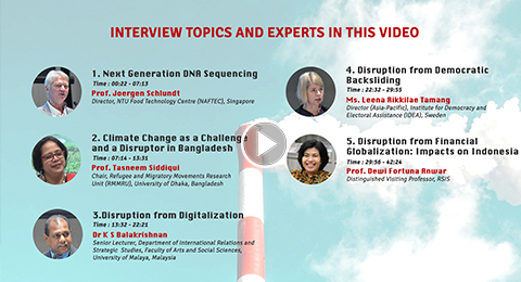 Interviews at NTS-Asia Consortium Annual Conference 2018