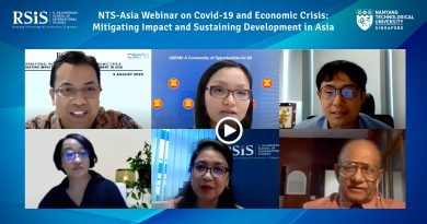 NTS-Asia Webinar on Covid-19 and Economic Crisis: Mitigating Impact and Sustaining Development in Asia