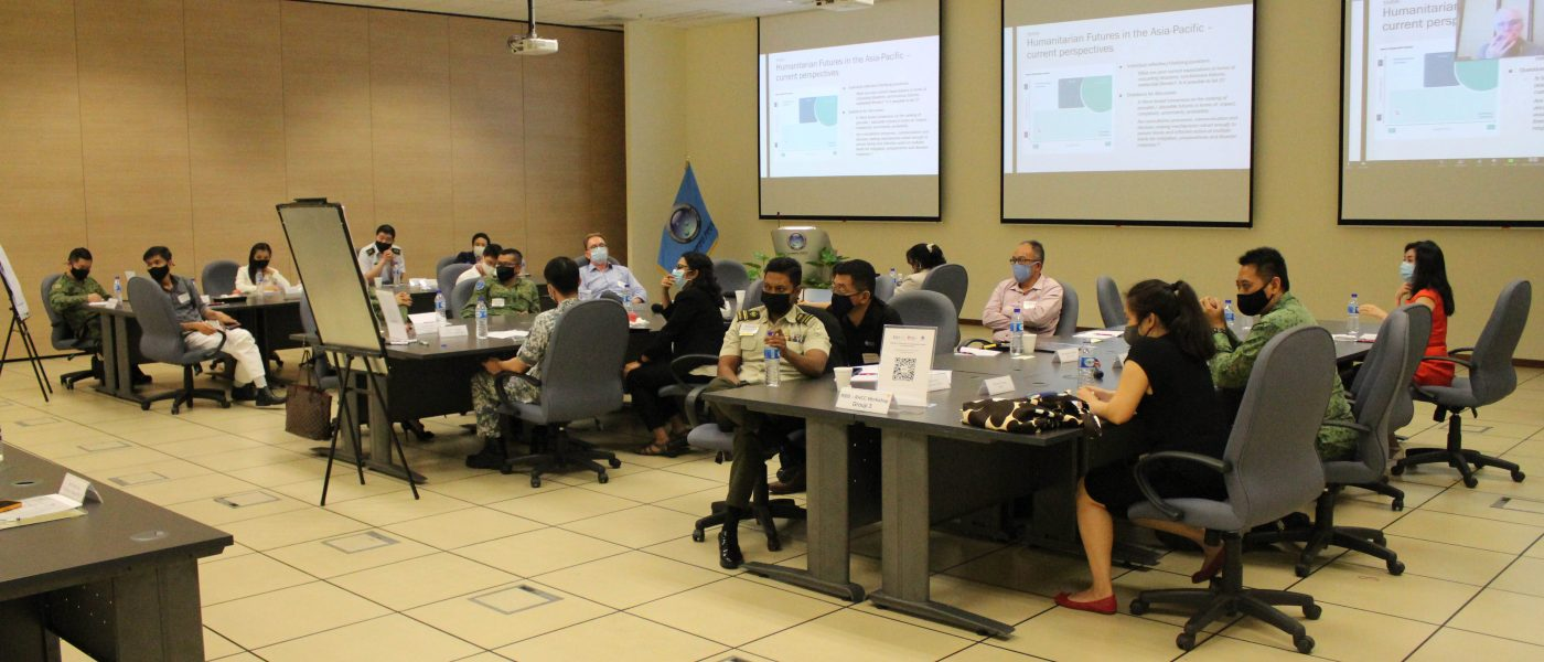 RSIS-RHCC Workshop on Humanitarian Futures in the Asia-Pacific