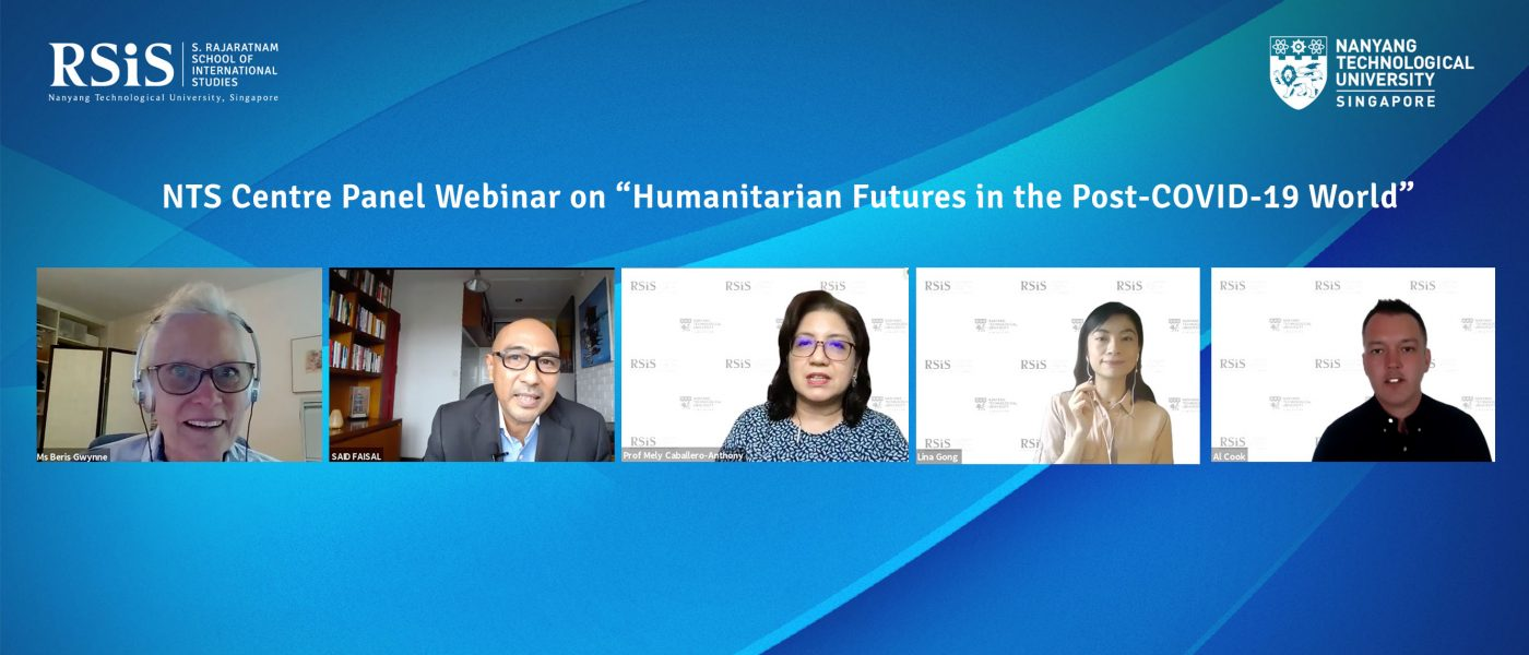"""Webinar on """"Humanitarian Futures in the Post-COVID-19 World"""""""