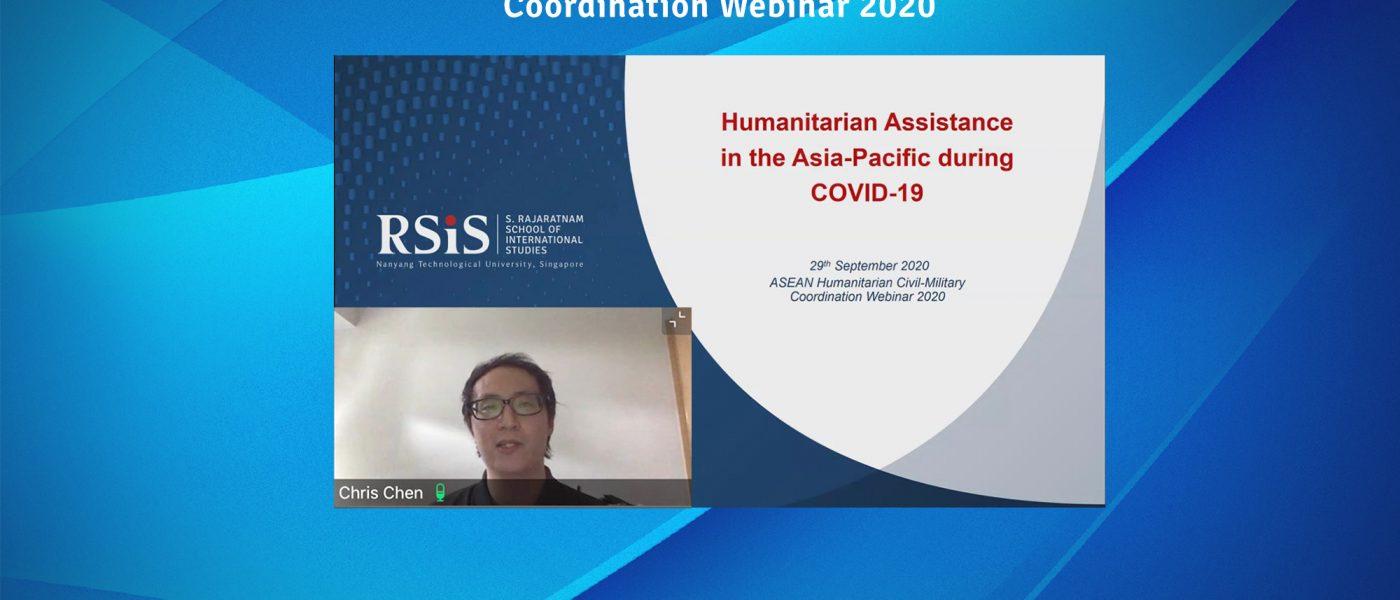 ASEAN Humanitarian Civil-Military Coordination Webinar 2020